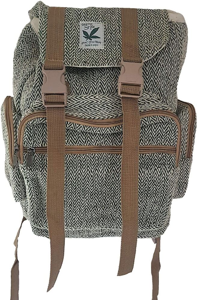 One Earth Hemp Backpack